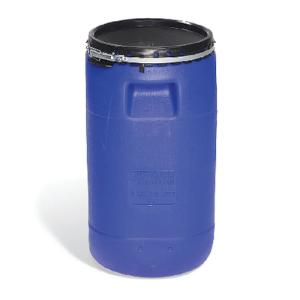Cube-Shaped UN Rated Poly Drum, New Pig