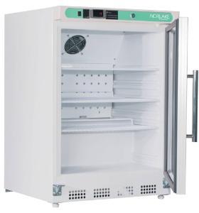 Glass Door Freezer Internal View