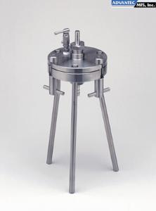 142 mm Diameter 316 Stainless Steel Inc. Advantec MFS 302000 KS142 Model Large Pressure Filter Holder