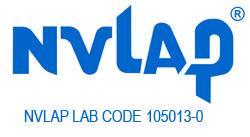 Troemner NVLAP Laboratory Code 105013-0