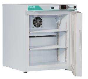 1 cf, Refrigerator, Left Hinged, Interior