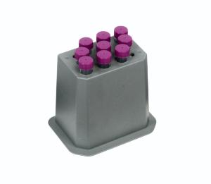 Block for 9×15 ml conical tubes