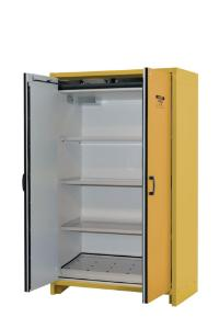 30-Minute, 45-Gallon EN Safety Storage Cabinet, Opened