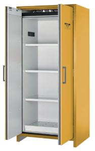 90-Minute, 30-Gallon EN Safety Storage Cabinet, Opened