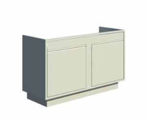VWR® Contour™ Standing Height Sink Cabinets